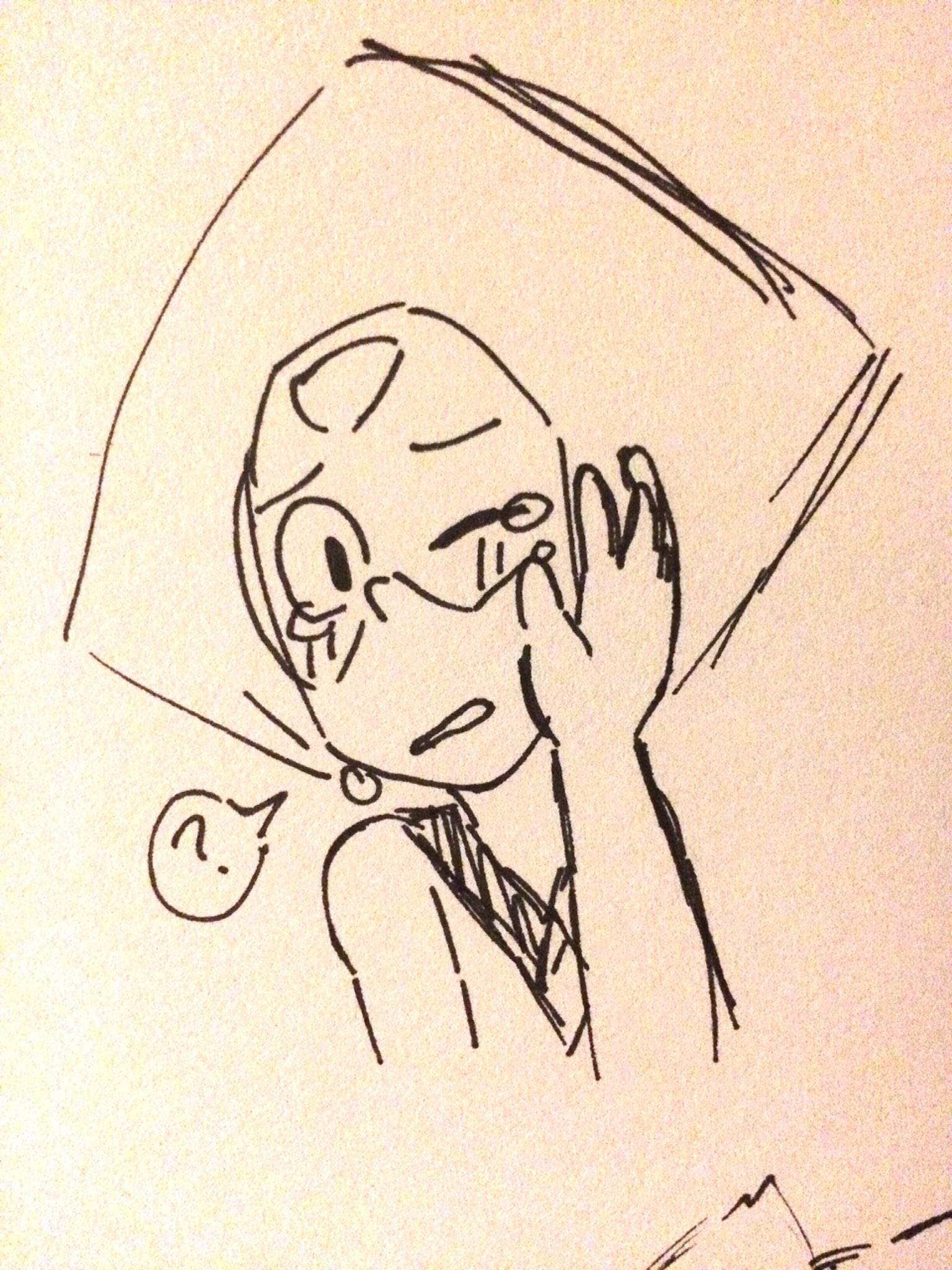 """""""""""I'm just missin Homeworld again Lazuli! Nothing to worry about!"""" ... """"Aha..ah.. why won't the tears stop?.. Weird!"""""""""""