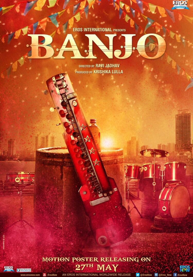 Teaser Poster of Banjo starring Riteish Deshmukh, Nargis Fakhri