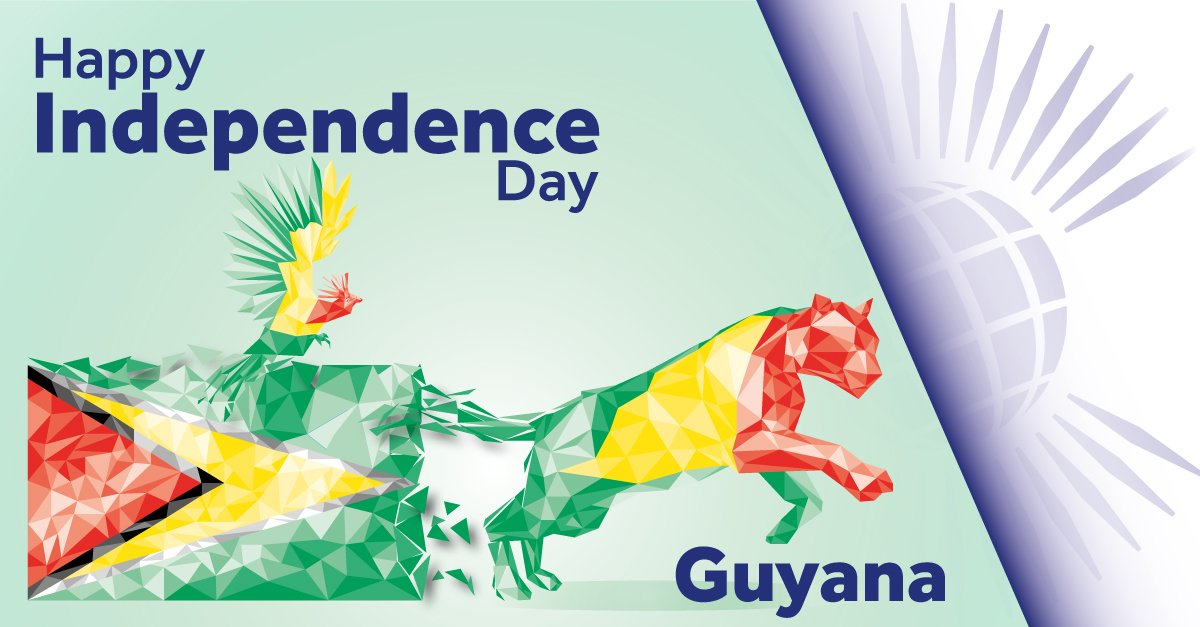 The Commonwealth On Twitter Happy Independence Day Guyana