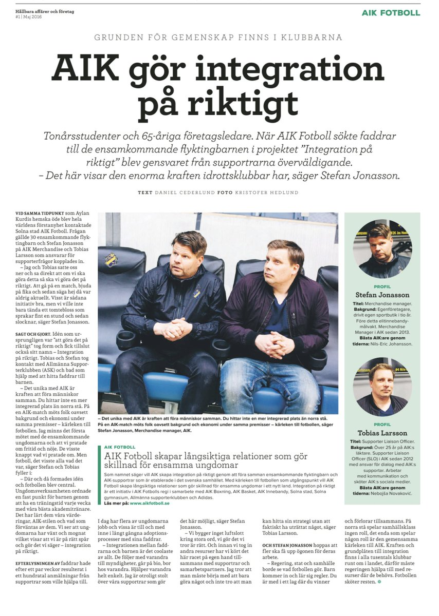 Snyggt @aikfotboll och @thingsic! https://t.co/bpV9WzgeSn