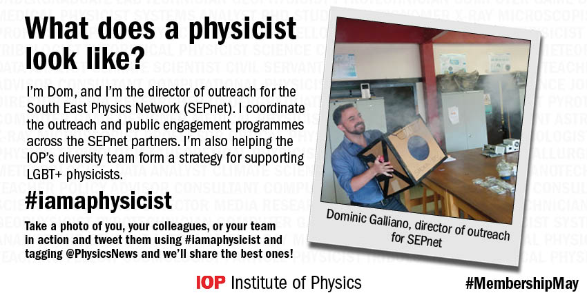 .@PhysicsDom works for @SEPhysics and is also working to further increase diversity in physics #iamaphysicist https://t.co/umDbepGg8n