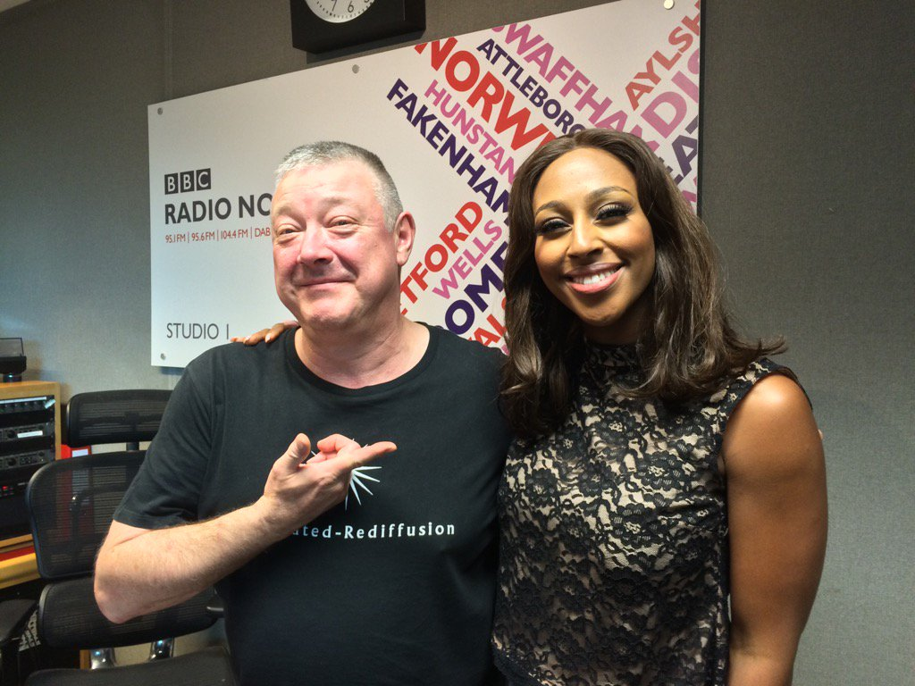 RT @BBCNorfolk: Look! It's @Bumfrey with his new close personal friend @alexandramusic! https://t.co/N1f2ILsTay