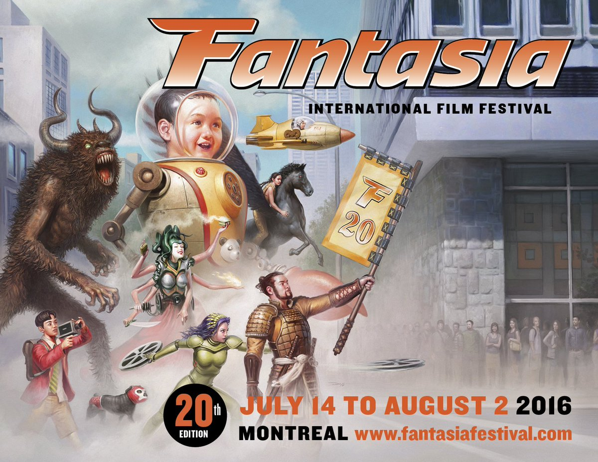 #FantasiaFest 2016 1st Wave!!!   @RealGDT!   TAKASHI MIIKE!   @LightsOutMovie!  Details: https://t.co/ozBUk8Xqf9 https://t.co/Y2toeAVNLx