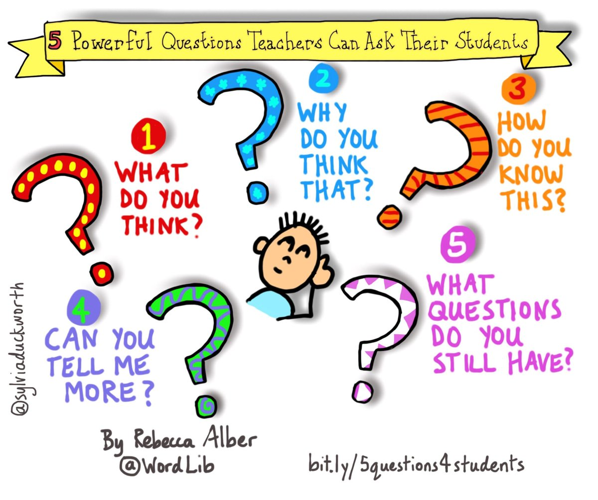 via @Refthinking: powerful questions you can ask students @sylviaduckworth https://t.co/onbuqnH23B https://t.co/OQ09t4suQk #growthmindset