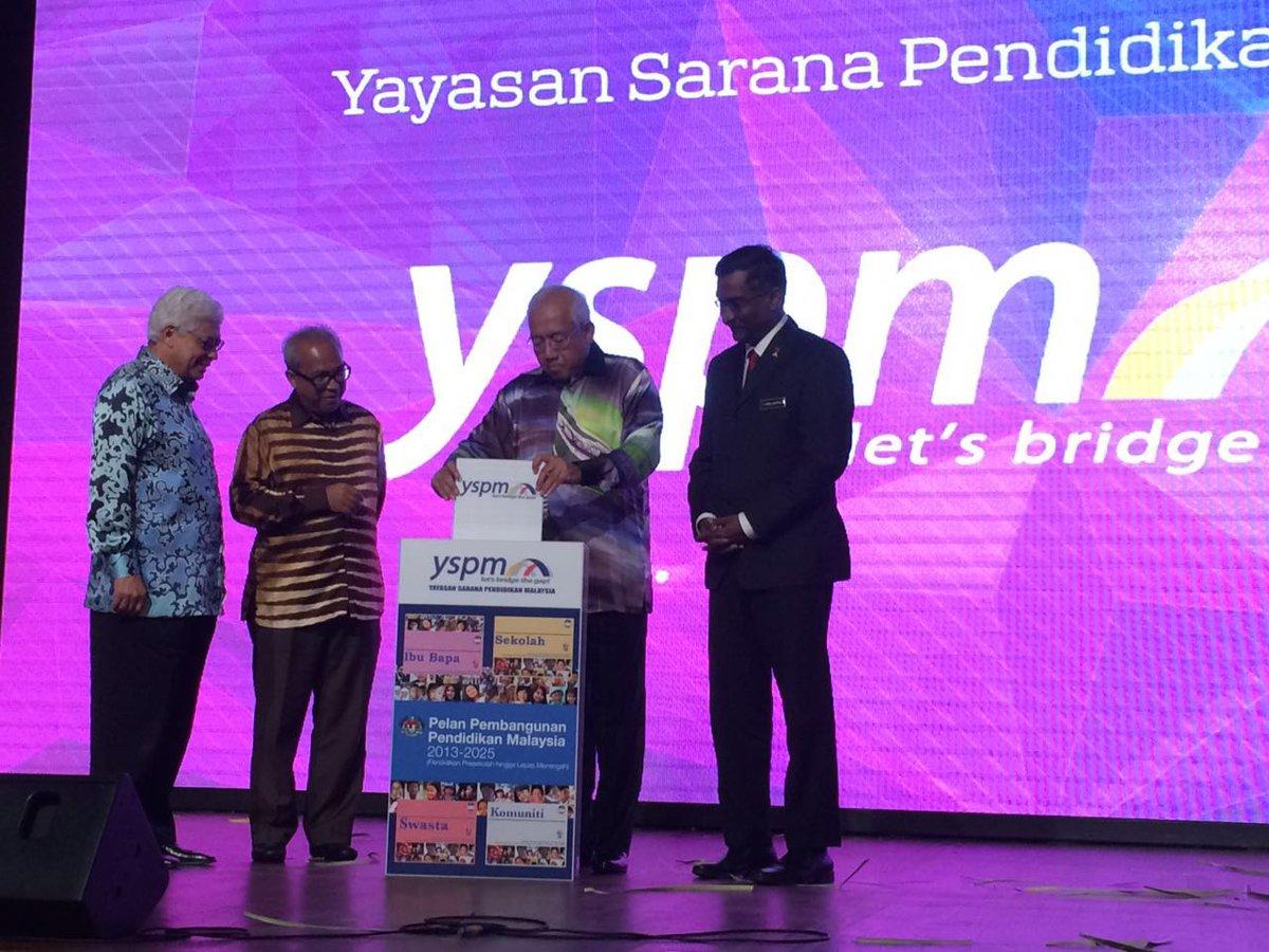 Bernama On Twitter Menteri Pendidikan Mahdzirkhalid Lancar Yayasan Sarana Pendidikan Malaysia Yspm Malam Ini