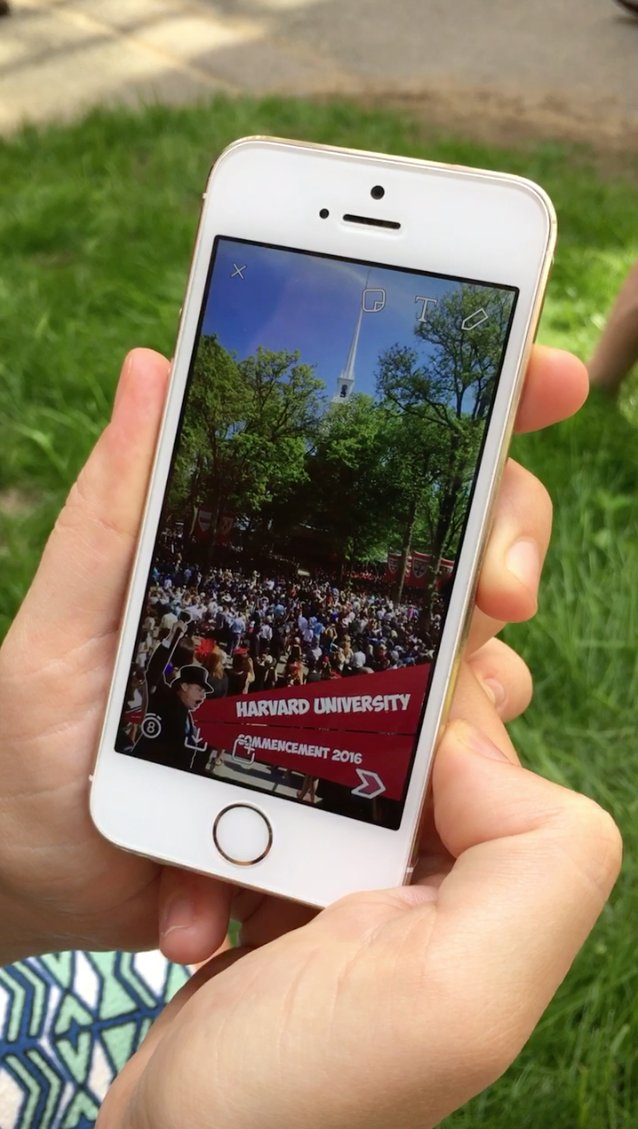 For those in Harvard Yard for #Harvard16 Commencement, swipe to see our @Snapchat geofilter! https://t.co/ID0GeGCYXD