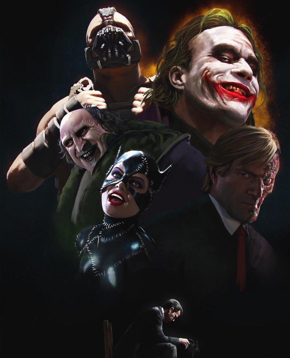 Thatonenerdypage On Twitter Batman Movie Villains
