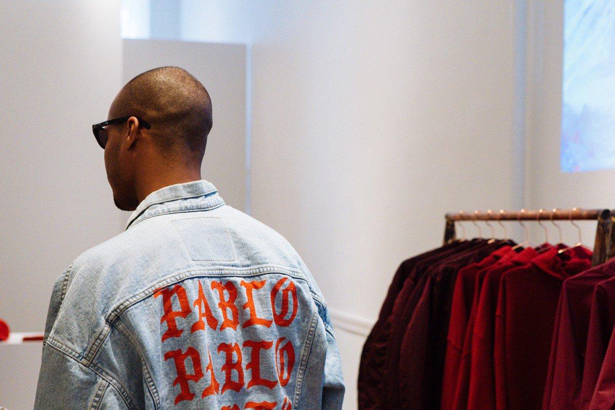 """Le nouveau Pop Up Store en vidéo pour la collection """"The Life Of Pablo"""" par Kanye West. https://t.co/6F25erWSGG https://t.co/XYPKAt3xDp"""