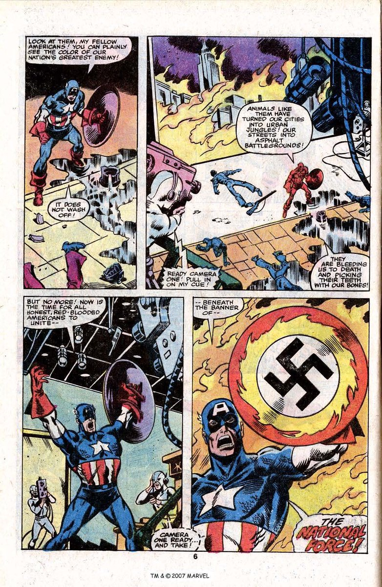 Just gonna leave these older Captain America pages here. https://t.co/FBRY5jT5XI