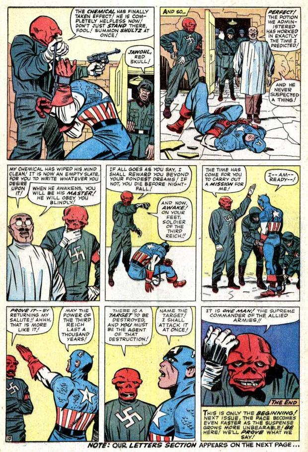 I'm outraged at Stan Lee and Jack Kirby! This is a slap in the face of the character! He's now forever tainted! https://t.co/fkzroszQbG