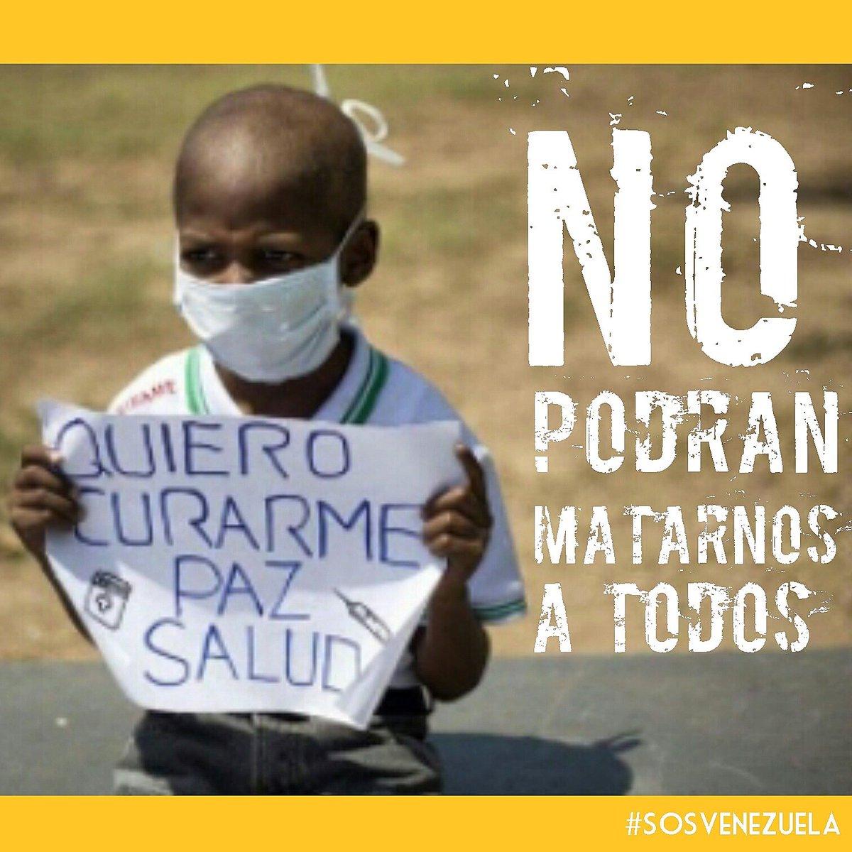 #NoPodranMatarnosATodos!  ¡La peor derrota es la derrota del corazón! https://t.co/AV0LGKGQWo #SOSVenezuela https://t.co/j7y803jAa6