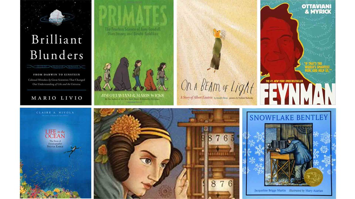 via @MindShiftKQED: 14 Books That Connect w/ Scientists' Struggles  by @dfkris https://t.co/bi1jNmGrPs https://t.co/kYjC81tJIk #MindsetPlay