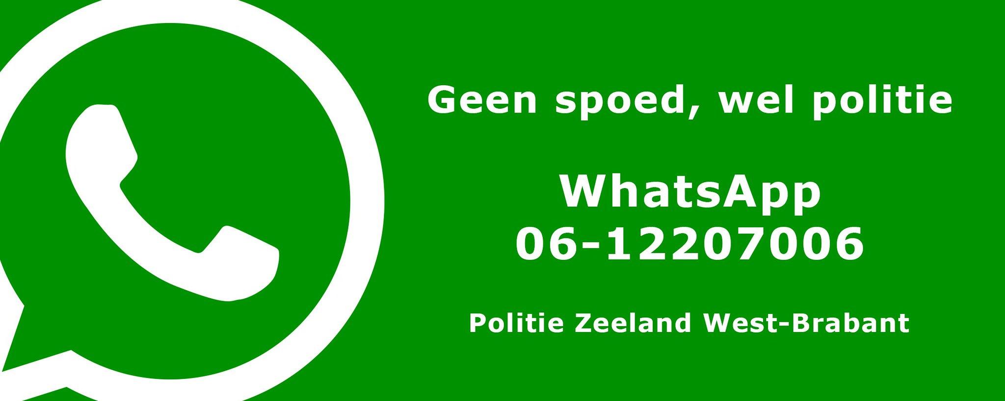 Geen Nood Wel Politie.Wijkagent Henk On Twitter Nieuw Nummer Politie Whatsapp