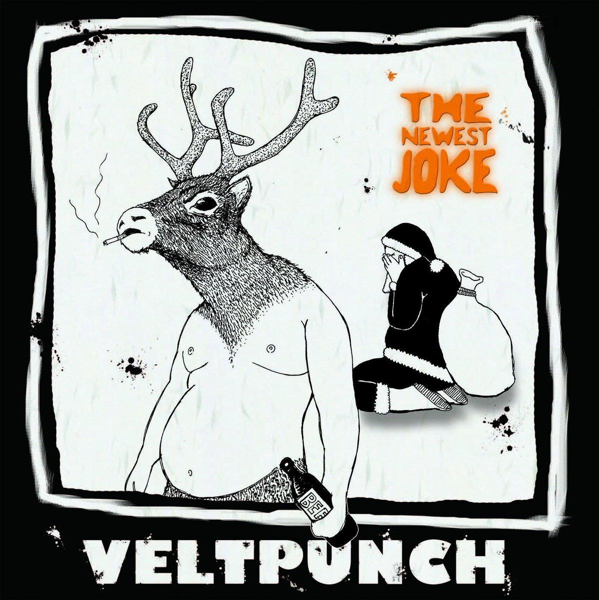 VELTPUNCHの8thアルバム「THE NEWEST JOKE」が7/20に発売決定です!  どうすか、このジャケ?  https://t.co/TLO9xWP6Qt