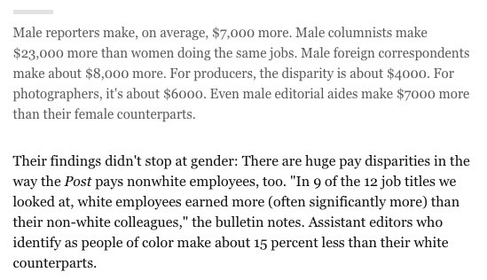 At the WaPo, male columnists make $23,000 more than women columnists. https://t.co/OctZcTfq25 h/t @GeeDee215 https://t.co/u6syrngaL3