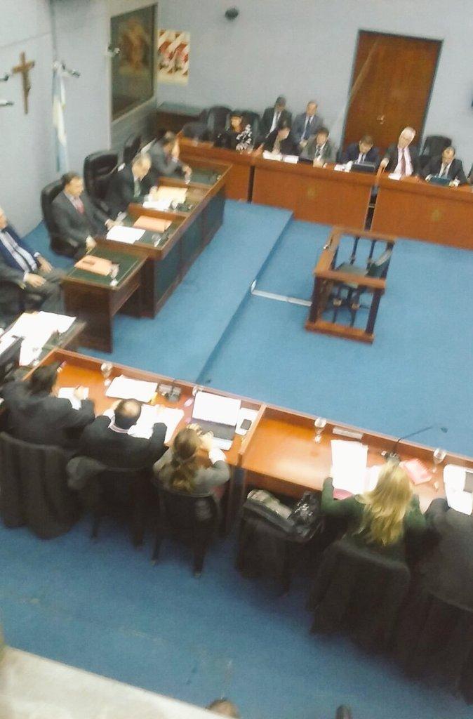 Empezó la audiencia por la megacausa Operativo Independencia. #MegacausaOI #Tucuman https://t.co/UibNUn8o9i