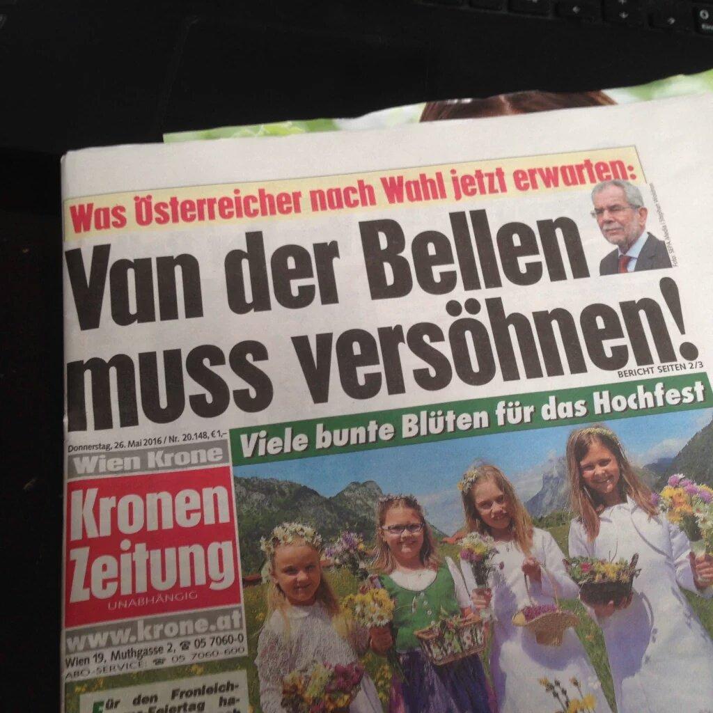 Karin Leitner On Twitter Eine Gazette Die Ständig Schwarz Weiß