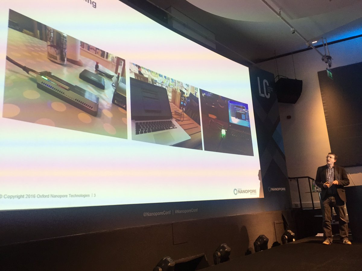 Sequencing at home, on holiday and at a sequencing conference @mattloose #nanoporeconf https://t.co/IpbnTdGvyR