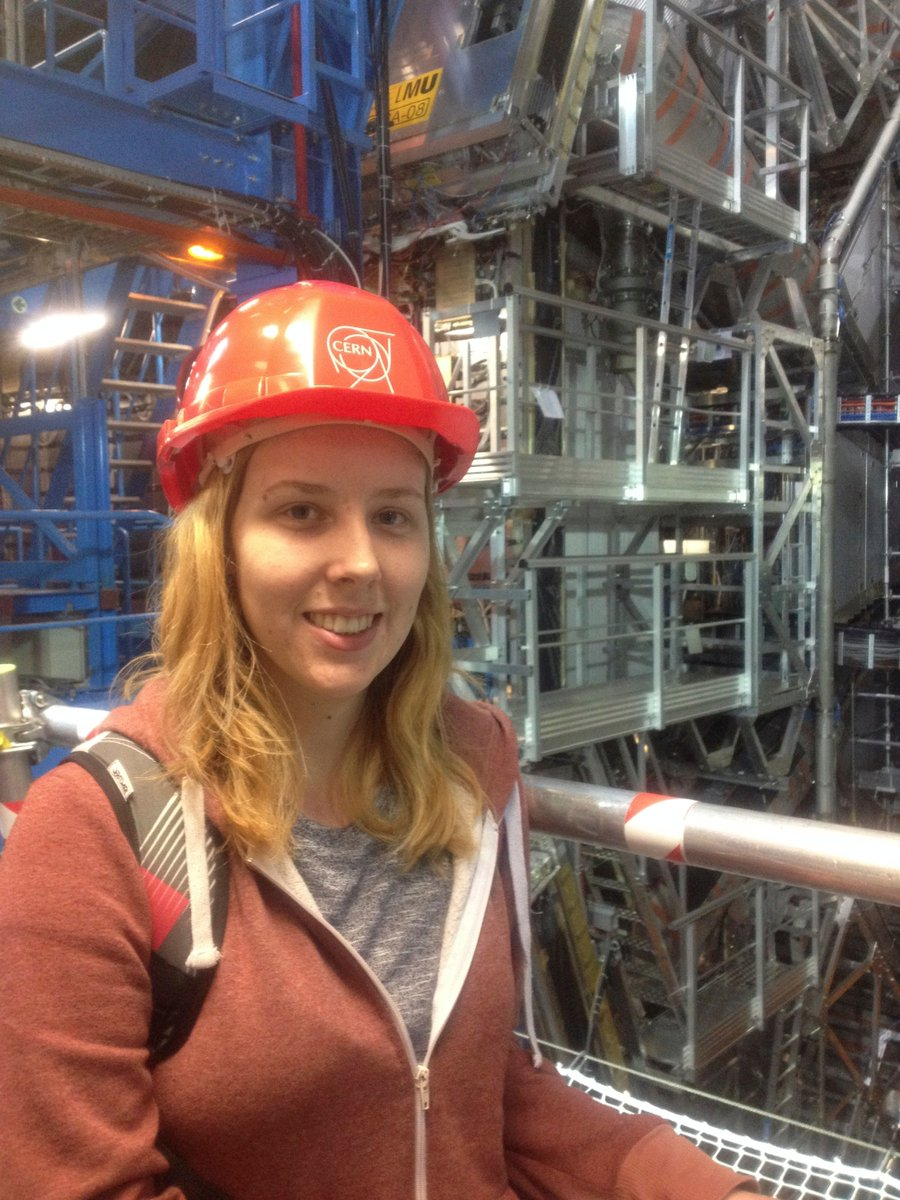 Happy #iamaphysicist day! Here's me visiting the ATLAS detector during my year working at CERN https://t.co/GezlM40BBx