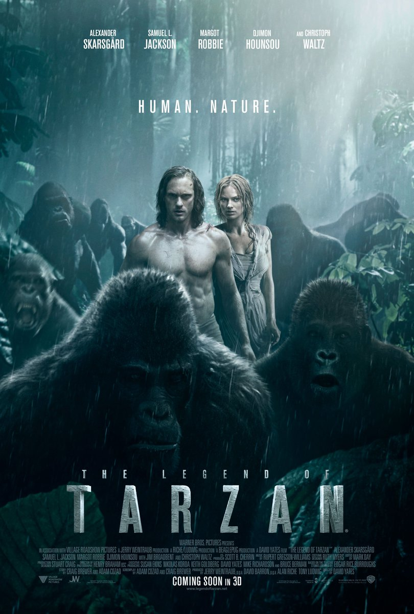 New The Legend of Tarzan Poster Revealed 1