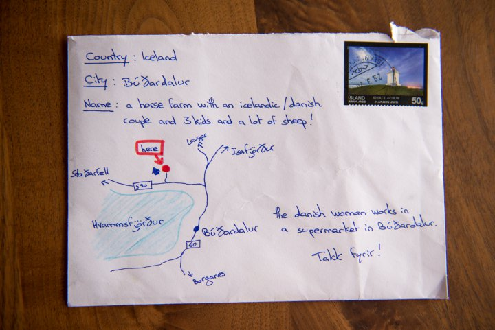 Makes me smile: this letter was delivered in Iceland despite no name, no address. ^^ https://t.co/EPrFZSt5e0 https://t.co/95Xbv1GpBq