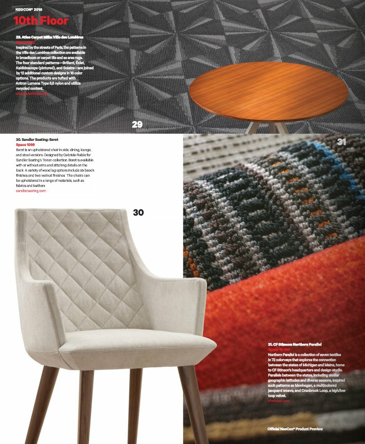 We are very excited to see our Beret chair in May's edition of @contractmag - https://t.co/gnZ4hYPASa #Furniture