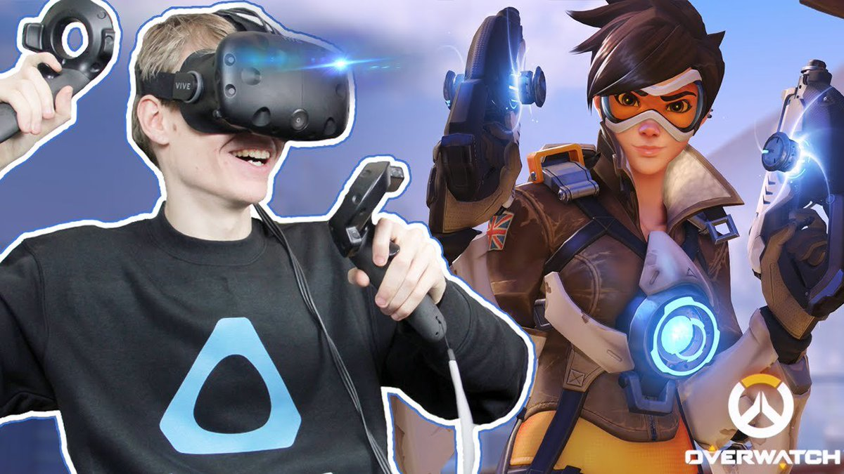 OVERWATCH WEAPONS IN VR!
