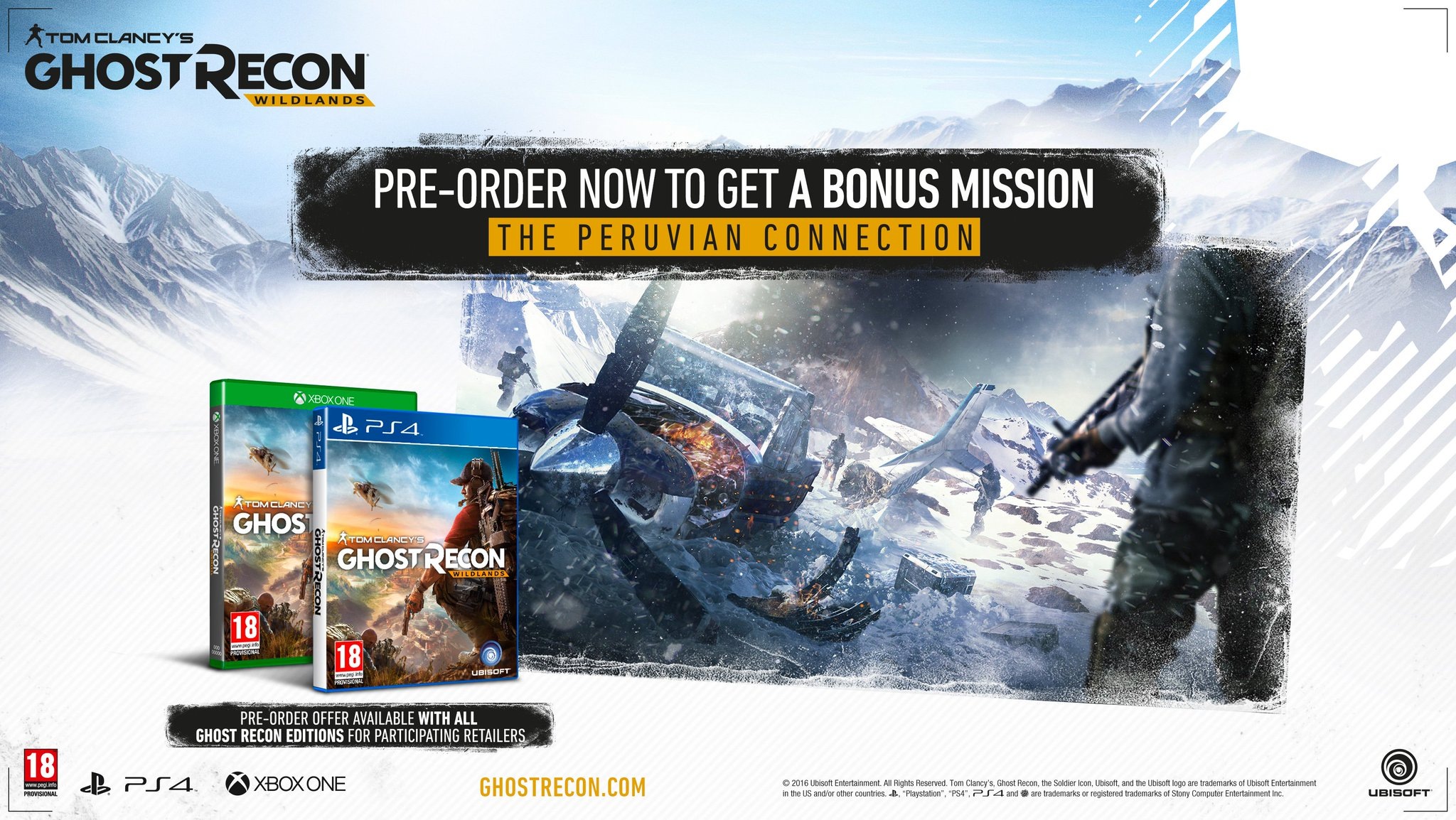 Ghost Recon: Wildlands 'We Are Ghosts' Trailer & Special Editions Revealed 4