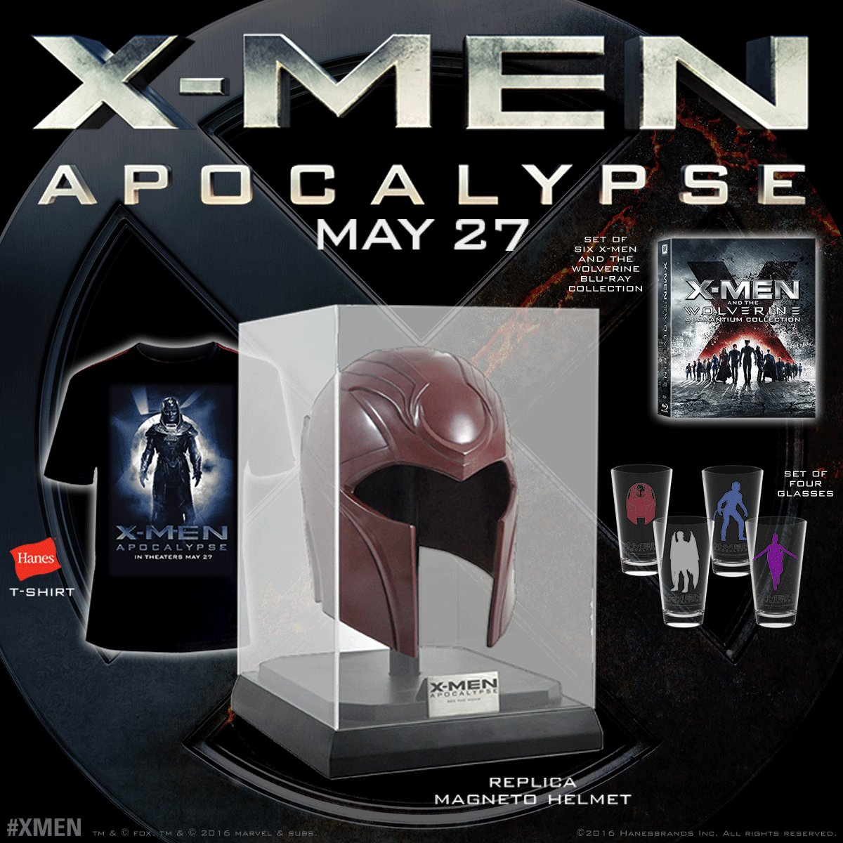 FOLLOW & RT for a chance to #win this @XMenMovies prize pack. Get your tickets NOW: https://t.co/AvKSJDlAUK https://t.co/rHGccdxQZ6