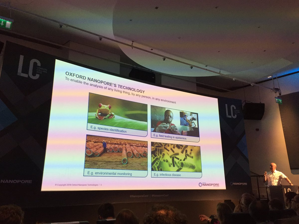Golden Mantellas make it into the front slide of @Clive_G_Brown MinION keynote #herps #nanoporeconf #chytrid https://t.co/OzWFj4KH6N