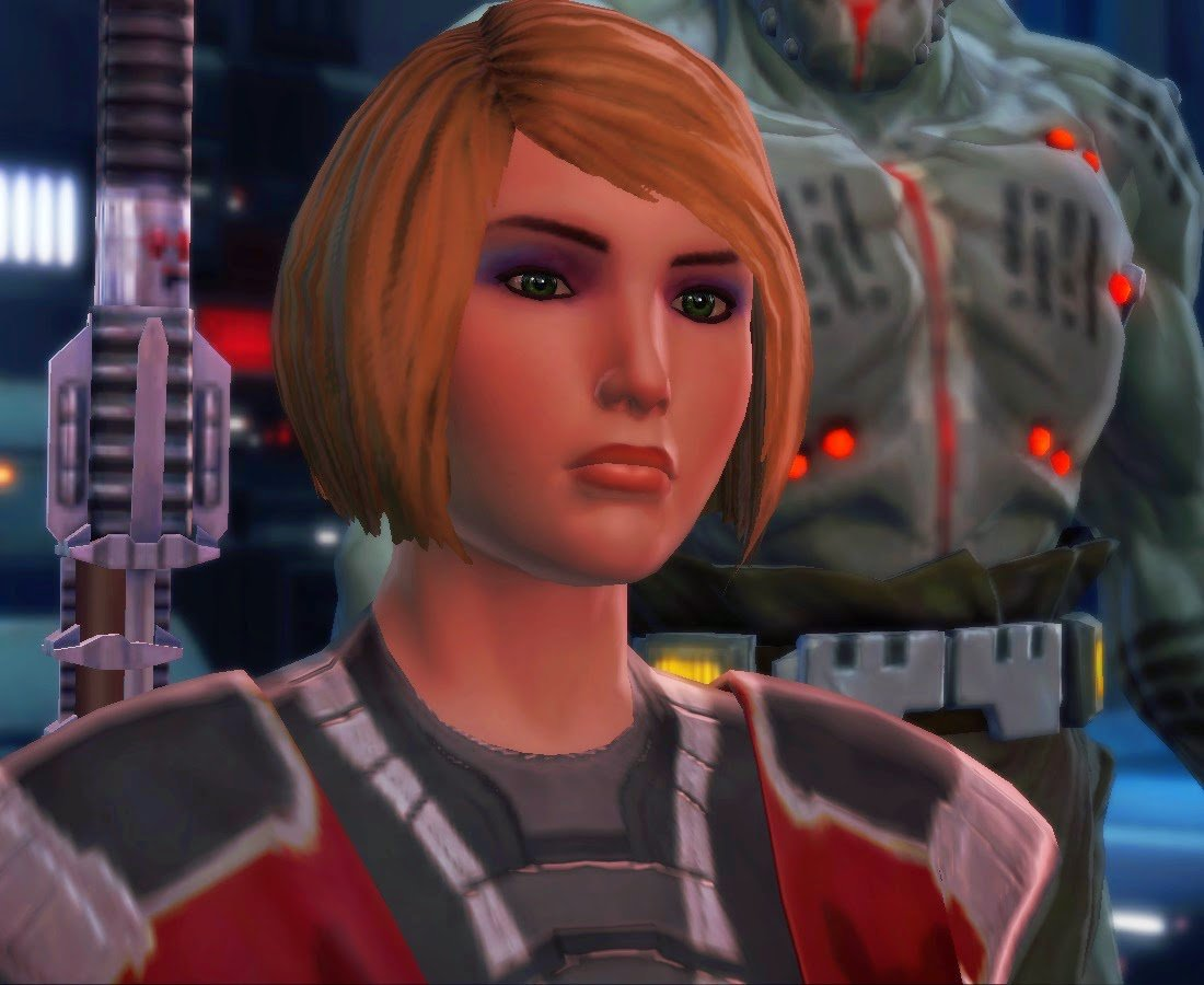 All these people talking #Overwatch, and I'm over here like— #SWTORFamily https://t.co/S0ChyoTRvV