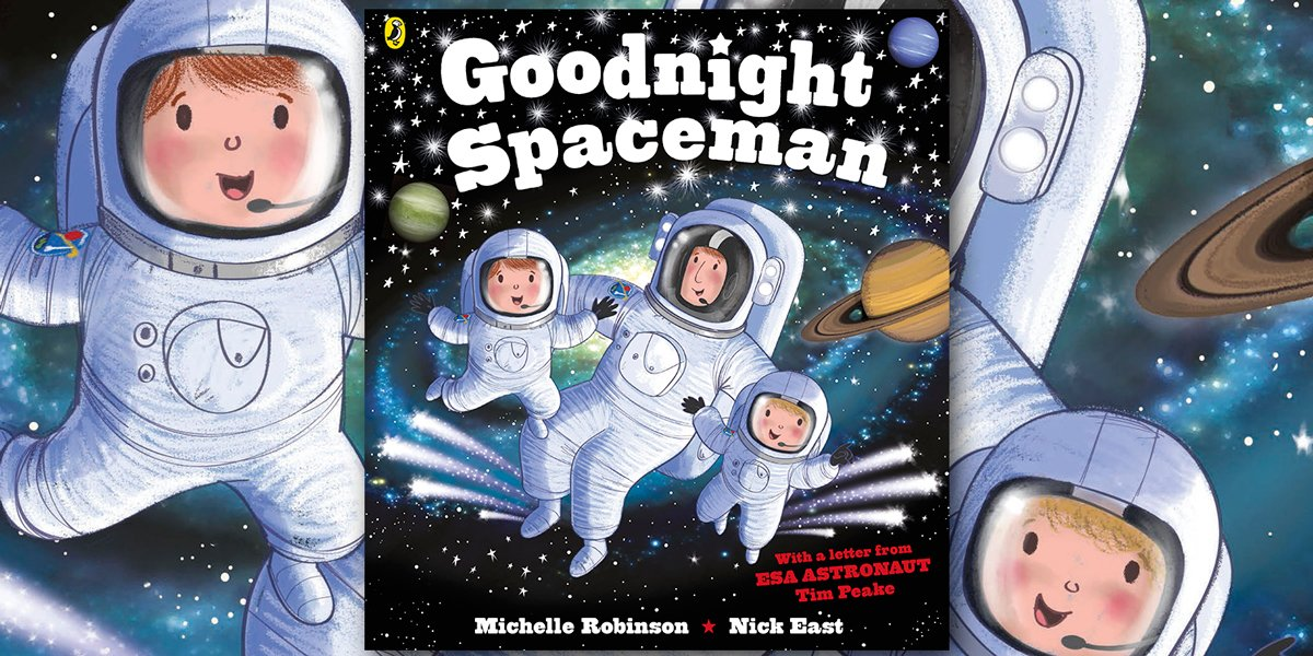 Follow and RT for a chance to #win a copy of the bedtime book for mini astronauts! #GOODNIGHTSPACEMAN https://t.co/JGiOeLYHp8