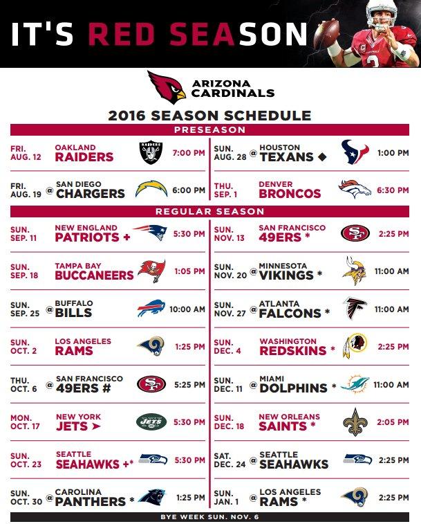 Ridiculous image regarding cardinals printable schedule