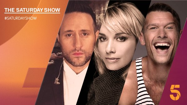 RT @SaturdayShow: Don't miss #SaturdayShow because we've got a stellar line-up on the sofa! @mouthwaite @AntonyCosta @mustbejp https://t.co…