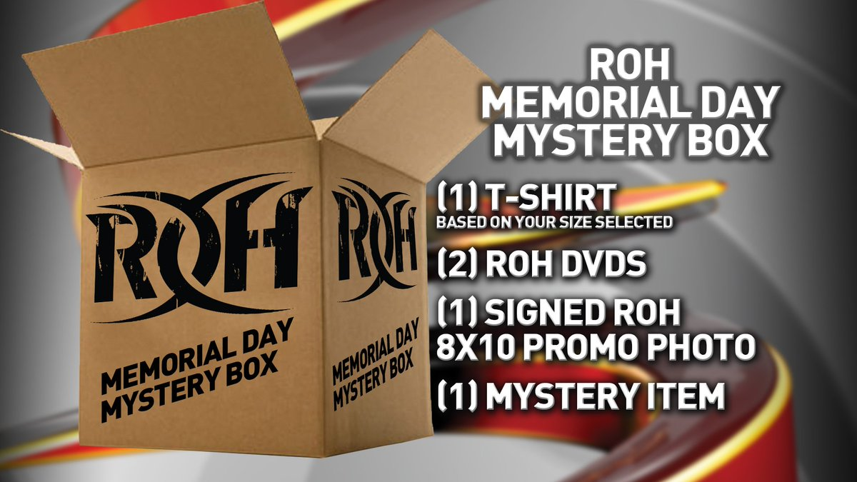 ROH MEMORIAL DAY MYSTERY BOX