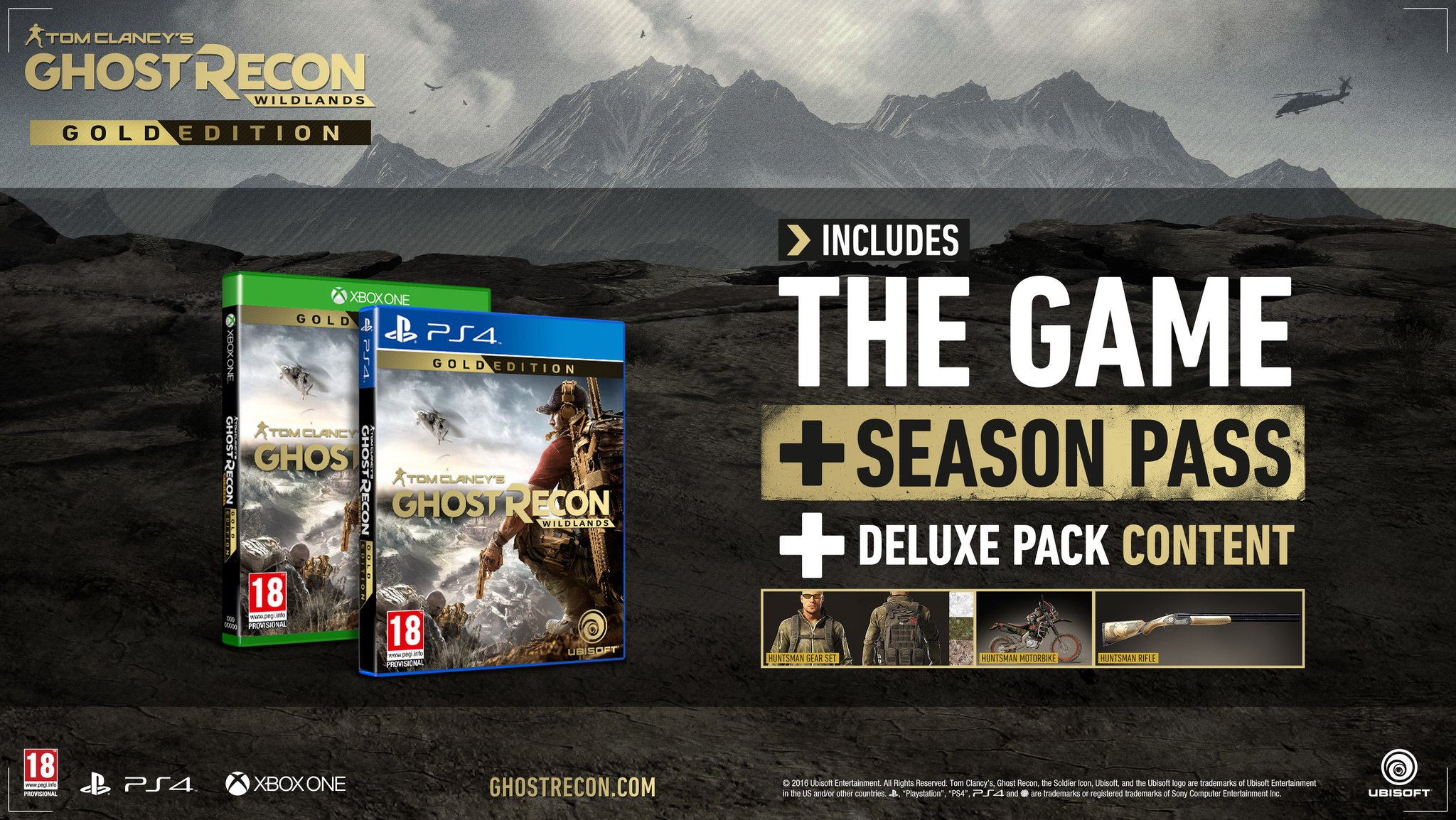 Ghost Recon: Wildlands 'We Are Ghosts' Trailer & Special Editions Revealed 3