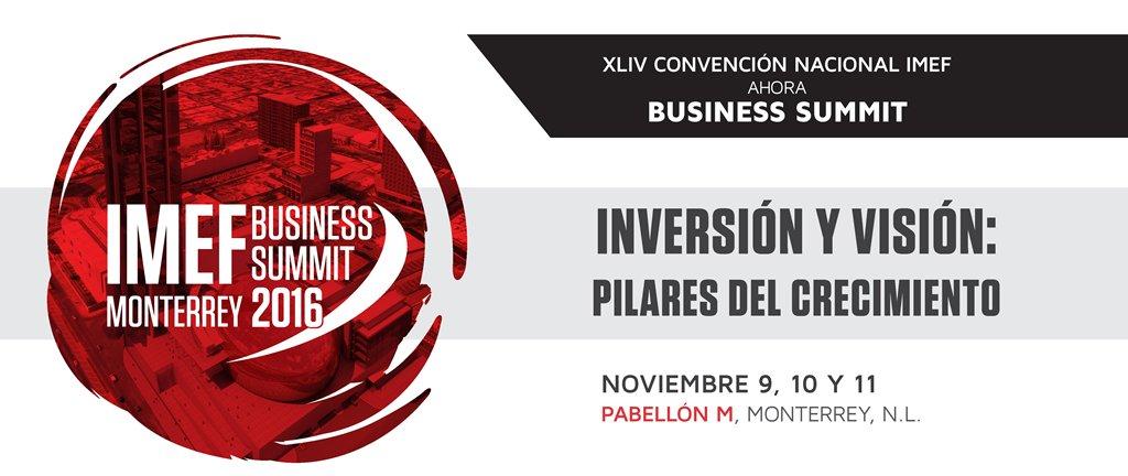 #ConvenciónIMEF ahora IMEF Business Summit | Inversión y visión: pilares del crecimiento: https://t.co/rv0Gb12wRo https://t.co/QGP9o1VmoT