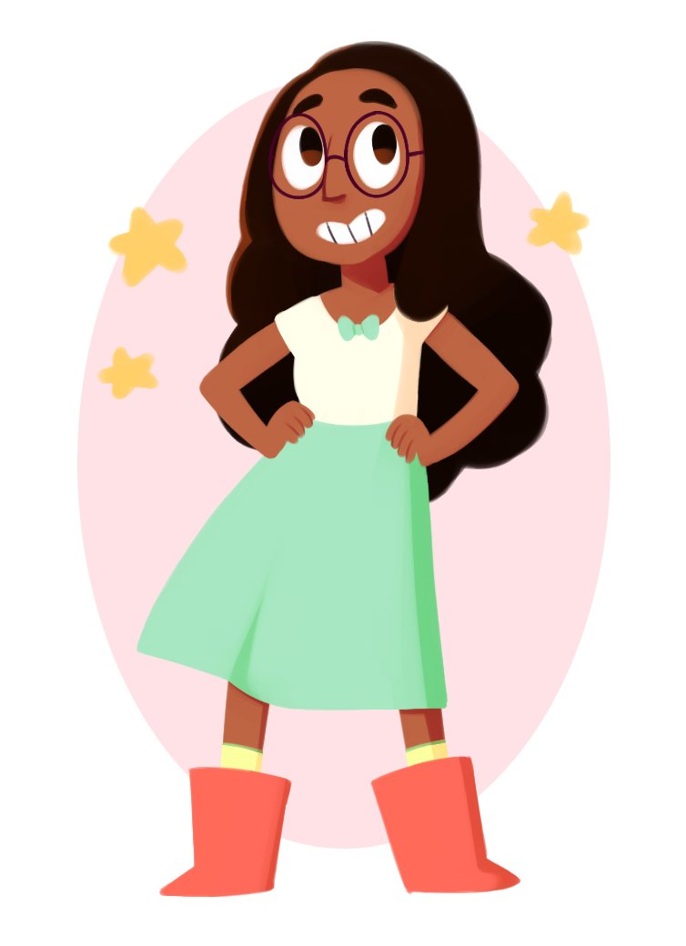 """i've never drawn connie before??!?!"""