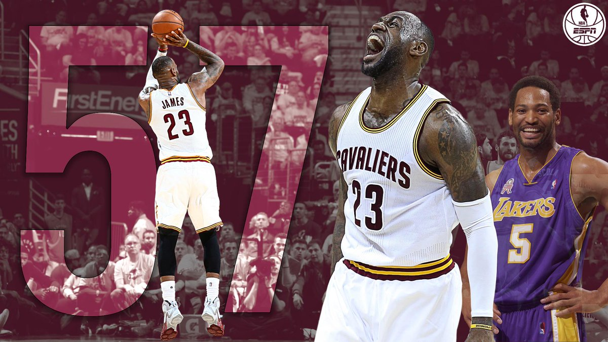 96cdc689b96 lebron james passes robert horry for most career nba finals 3 s in nba  history