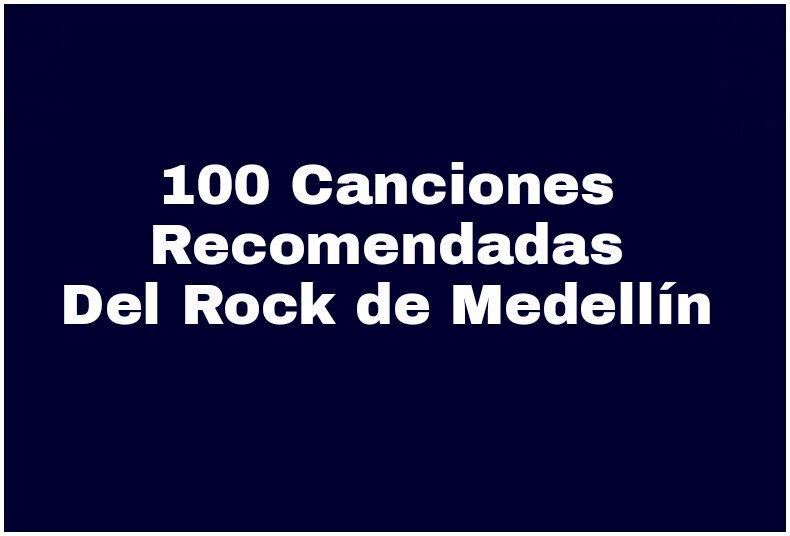 *100 Canciones Recomendadas del Rock de Medellín (2010 - 2016)* https://t.co/spPLjoG2gS