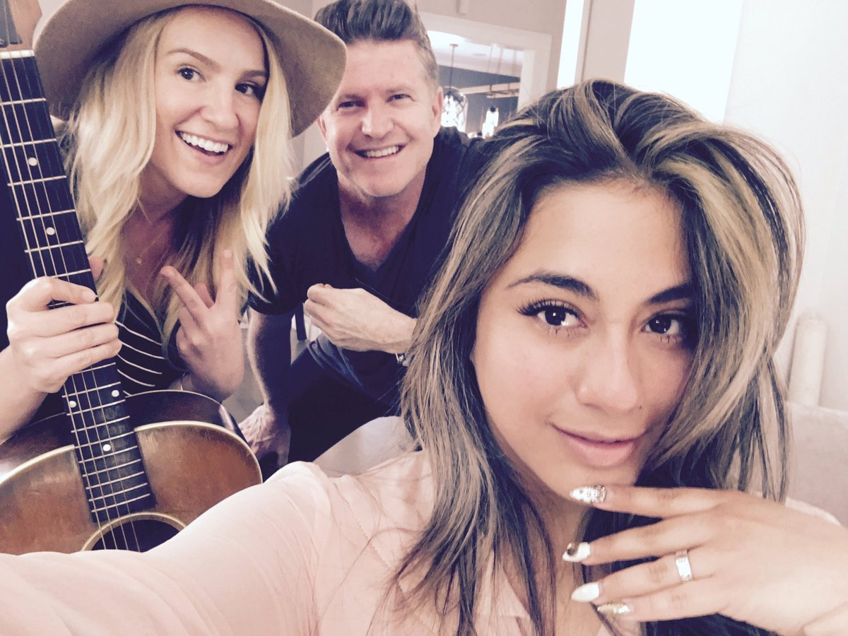 Makin toonz with the lovely  @AllyBrooke of @FifthHarmony and @jefferydavid https://t.co/11HrDjmNI5