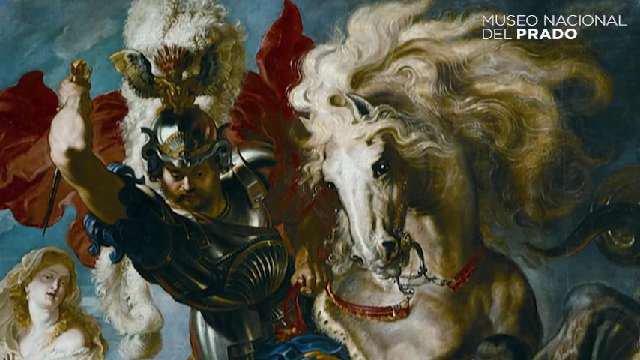 #ObraComentada 'Lucha de San Jorge y el...