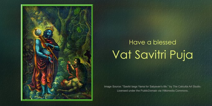 Vat Savitri Vrat  IMAGES, GIF, ANIMATED GIF, WALLPAPER, STICKER FOR WHATSAPP & FACEBOOK