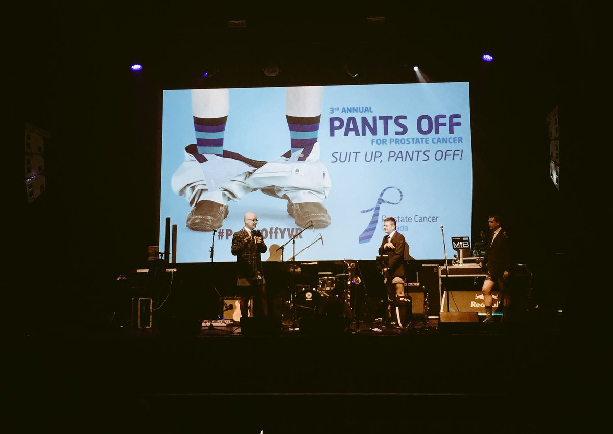 Out here at the 3rd annual #pantsoffyvr for prostate cancer! 👖🚫 🎉 @ProstateCancerC https://t.co/L1A98xdMvW