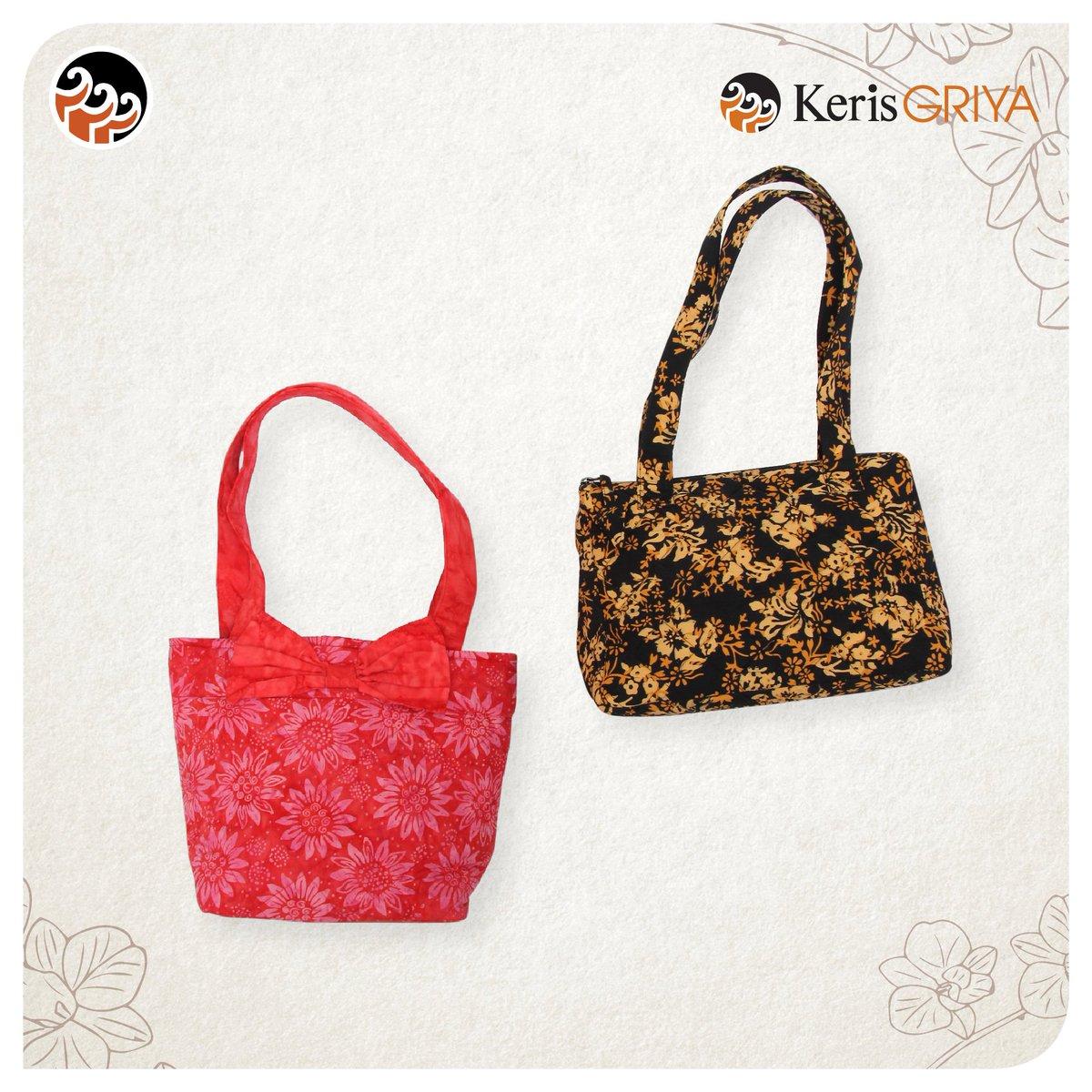 Batik Keris On Twitter Koleksi Tas Mira Merah Dan Citra Hitam Dari Griya By