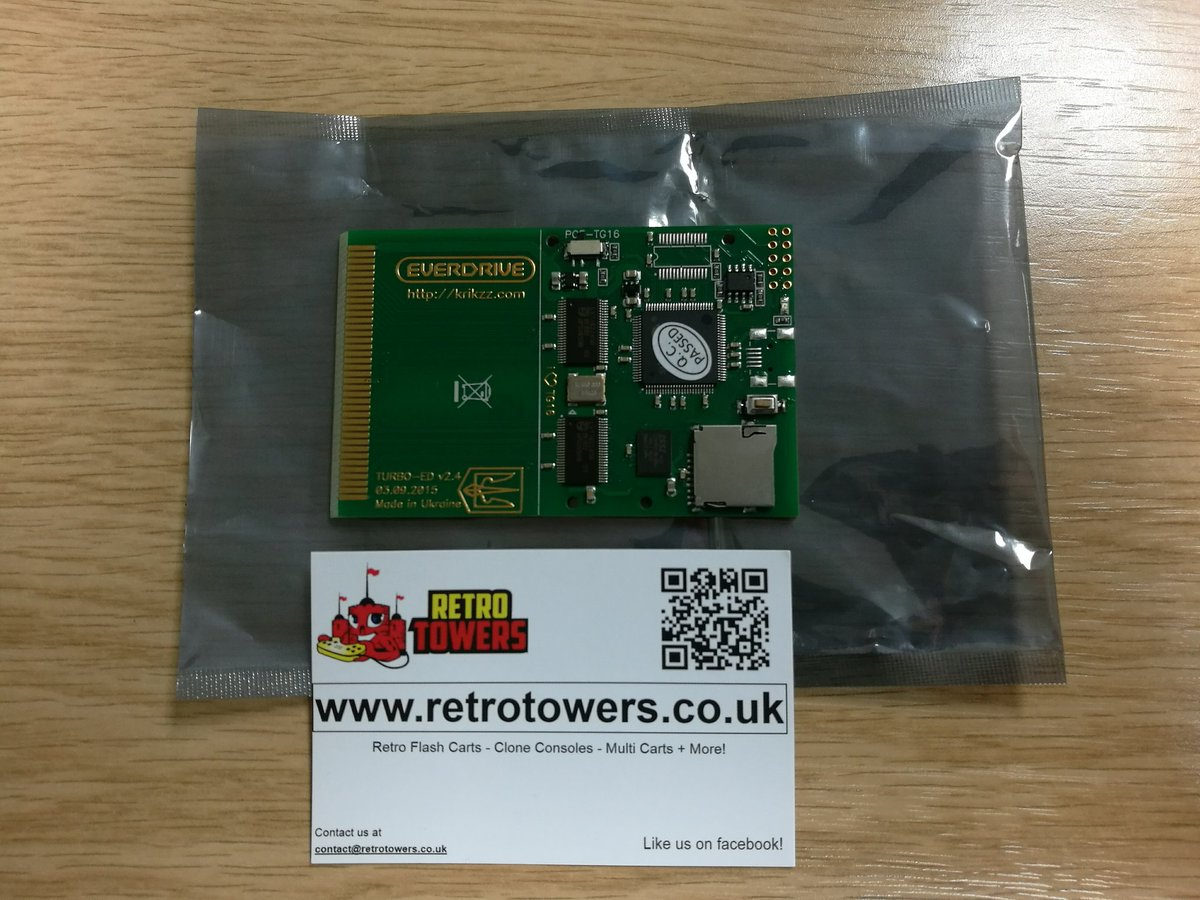 Great service from @retrotowers. Only ordered on Wednesday! #TurboEverdrive #PCEngine https://t.co/HKD5Koobzh