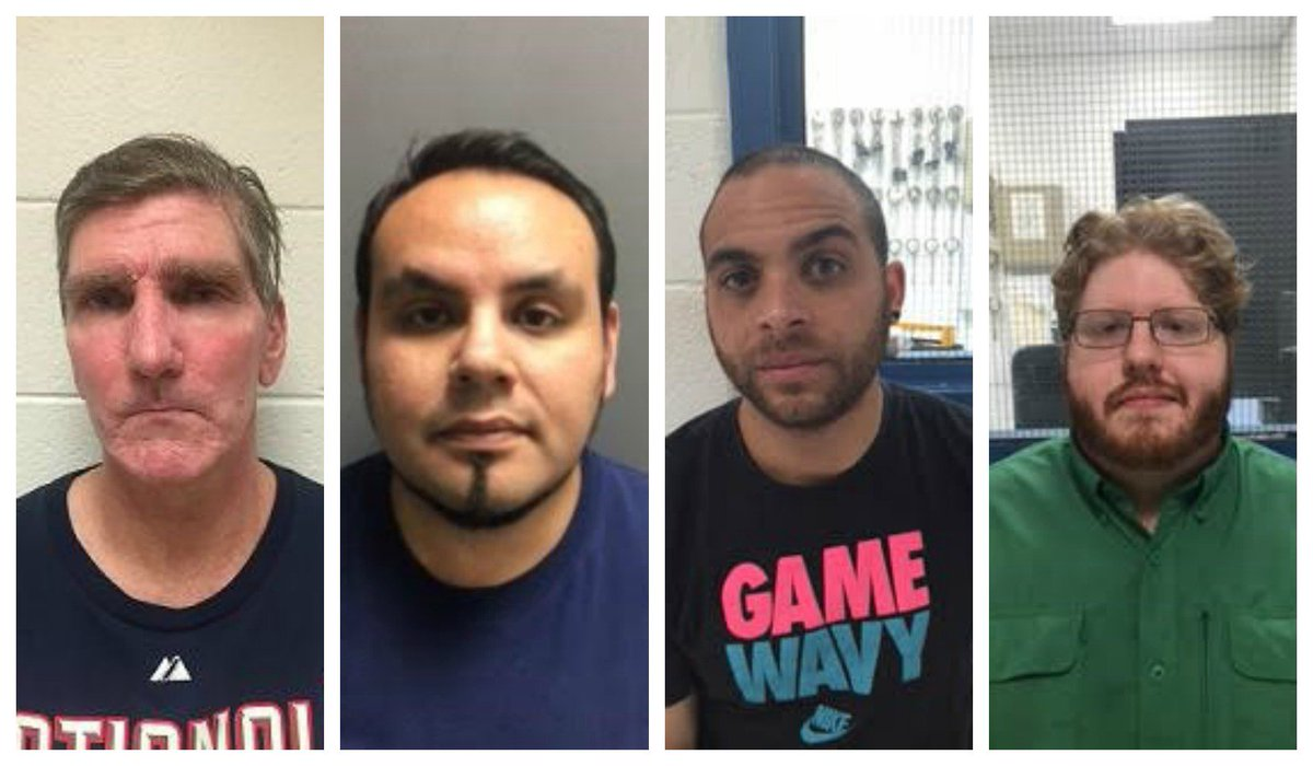State police arrest 4 men on sexual solicitation charges of a minor