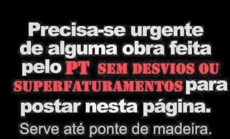Nas próximas eleições, não vote no PT!! #FimDoPT #AcordaBrasil https://t.co/smC2JF6ciq