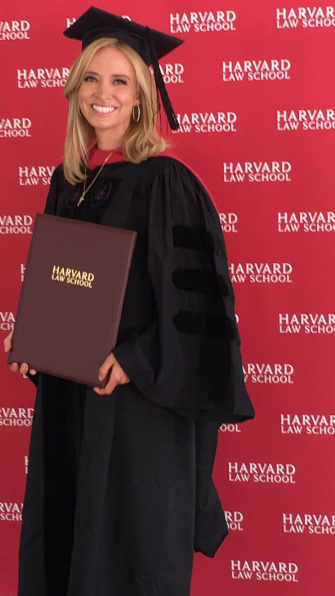 Kayleigh Mcenany On Twitter At 12 Years Old I Visited Harvard Law School Vowed To Graduate From This Institution Today My Dream Came True