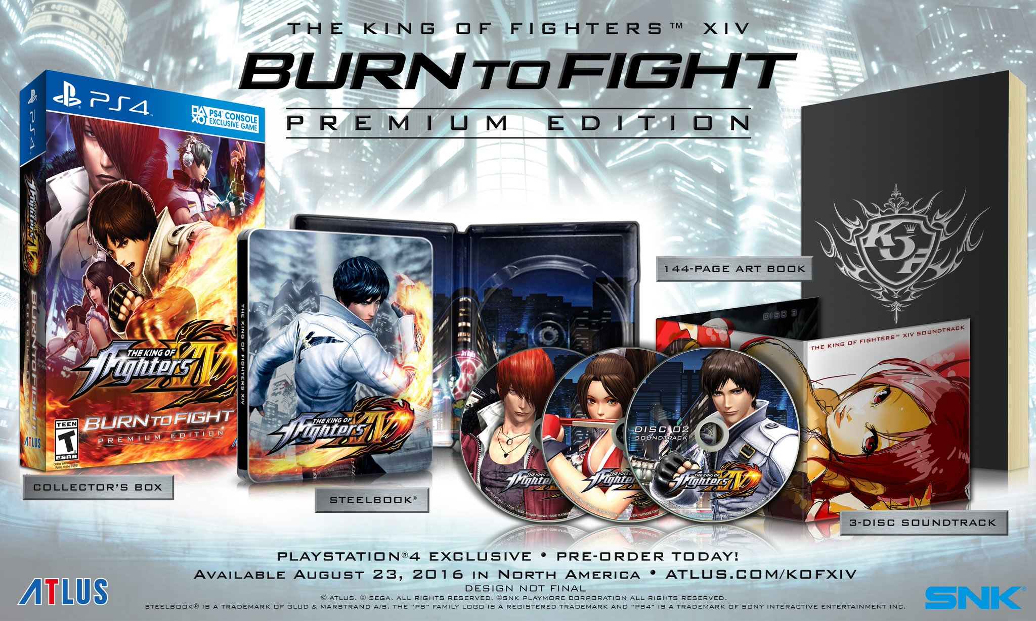CjaPl6hUkAAkE_R The King of Fighters XIV Burn to Fight Edition Announced